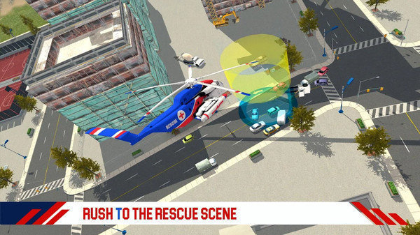 消防直升机救援图1