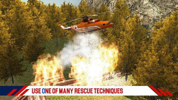 消防直升机救援图2