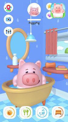 新生宝宝照顾小猪图1