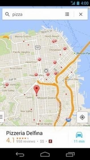 谷歌地图图1