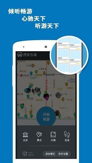 西安古城导游图1