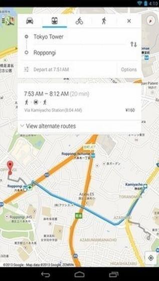 谷歌地图图2