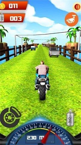 超强的摩托赛车图2
