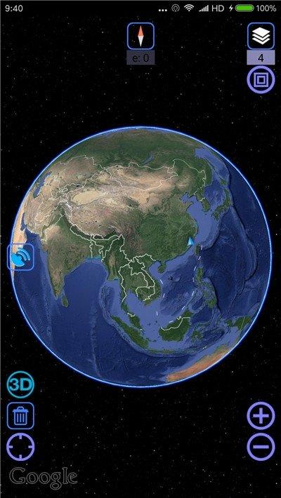 谷歌卫星地图2020版图1