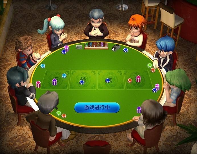 有着港式五张牌玩法的棋牌游戏