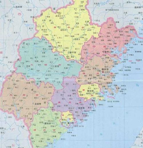 福州地图全图高清版本