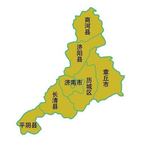 济南地图全图高清版大图