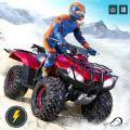雪地四轮摩托赛车