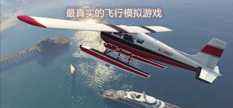 最真实的飞行模拟游戏