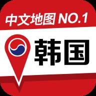 韩国地图中文版
