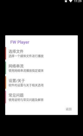 FW Player图2