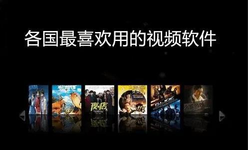 各国最喜欢用的视频软件