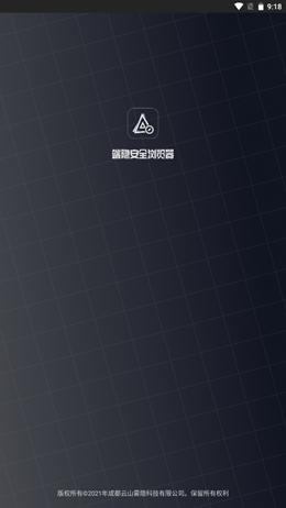 端隐安全浏览器图1