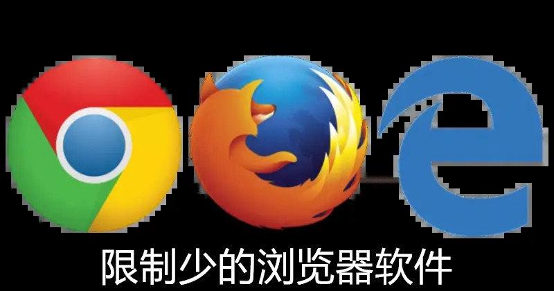 限制少的浏览器软件
